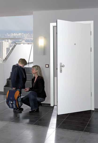 Алюминиевая входная дверь Хорманн Thermo 46